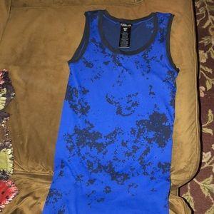 BEBE blue/black dress